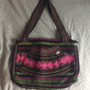 Colorful purse from Mexico